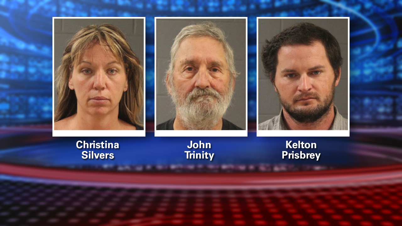 Police: three people arrested after horses found starved in WashingtonCounty
