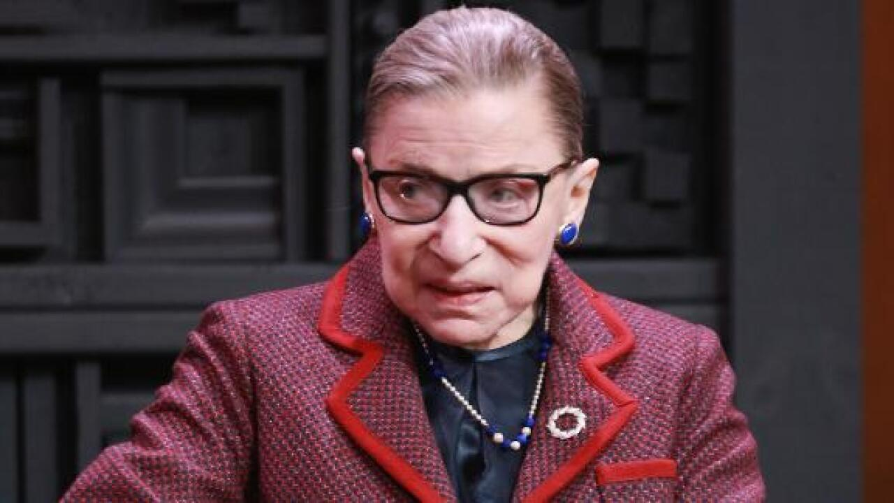 Ruth Bader Ginsburg admitted to hospital