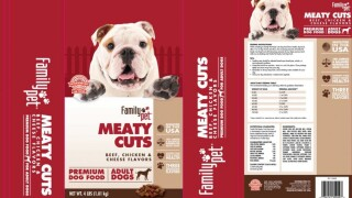 Dog food sold nationwide being recalled over concerns of mold by-product