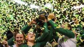 Baylor Volleyball wins Big 12