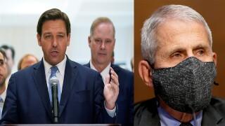 Gov. Ron DeSantis, Dr. Anthony Fauci, 'Don't Fauci My Florida'