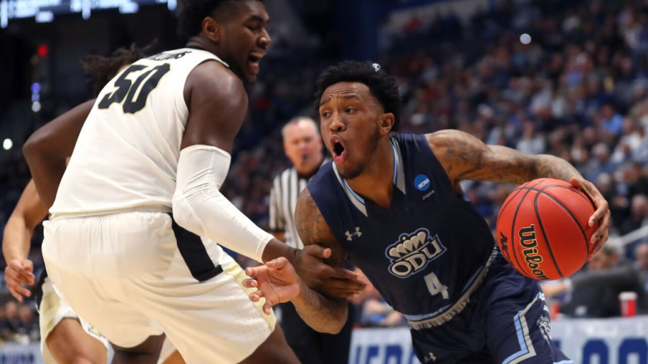 Pics gallery: Sights and sounds from ODU's NCAA Tourney game