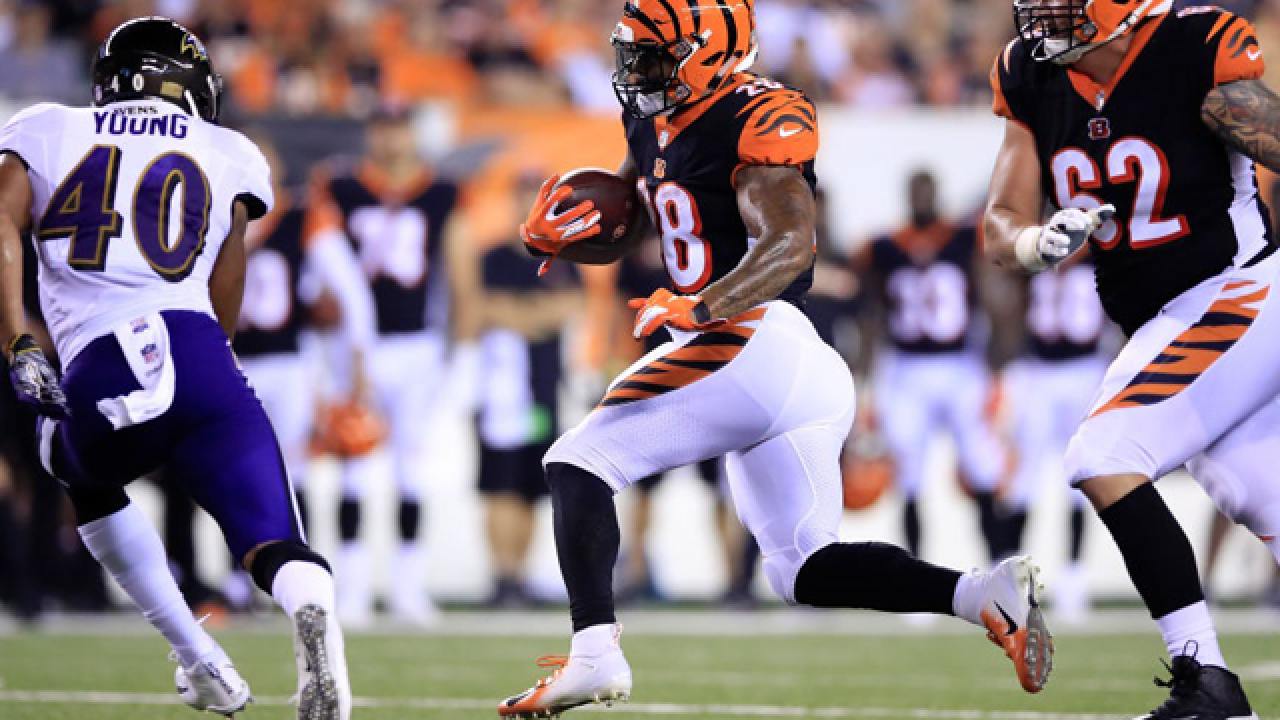 Coach Bill Lazor: Cincinnati Bengals will be 'just fine' while Joe Mixon is out