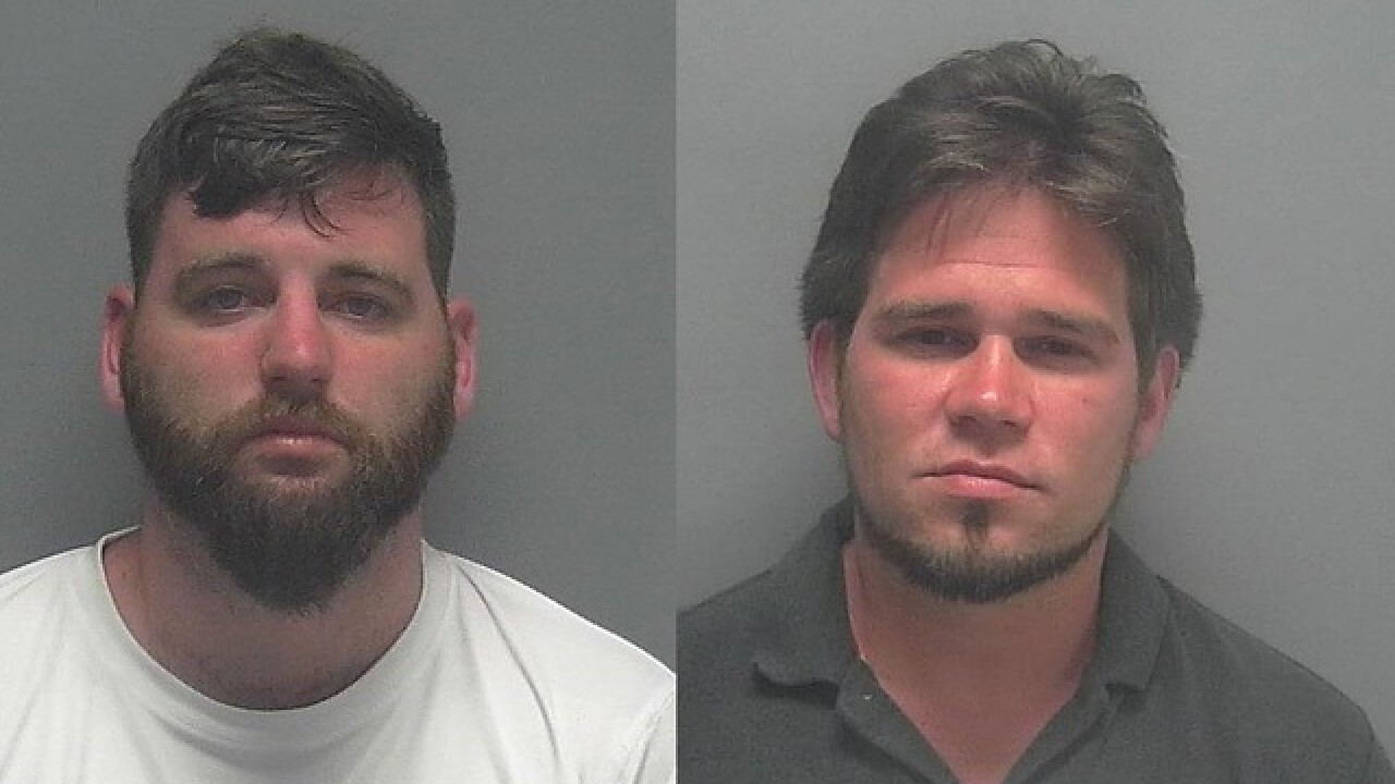 Two men charged with prowling at Sanibel home