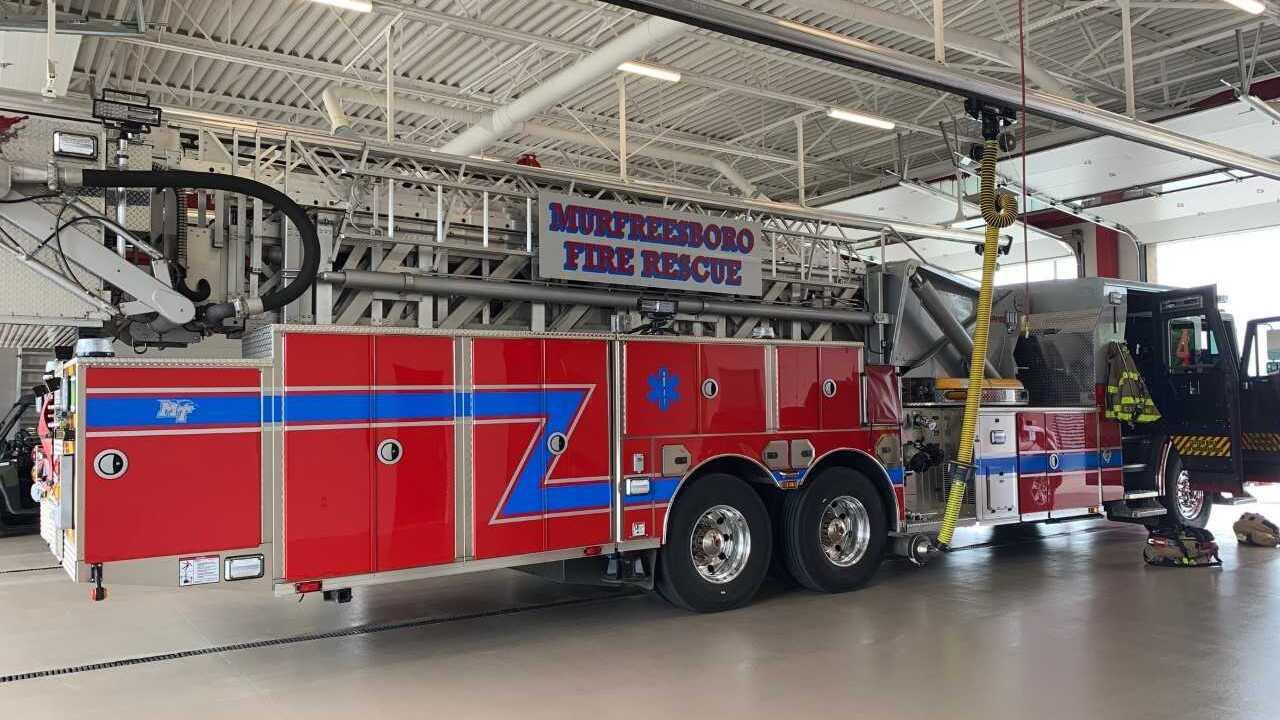 New Murfreesboro Fire Truck