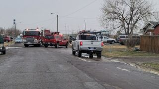 Great Falls Fire Rescue responded on Monday to a fire that burned the exterior of a home
