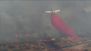 Cave Creek brush fire 3