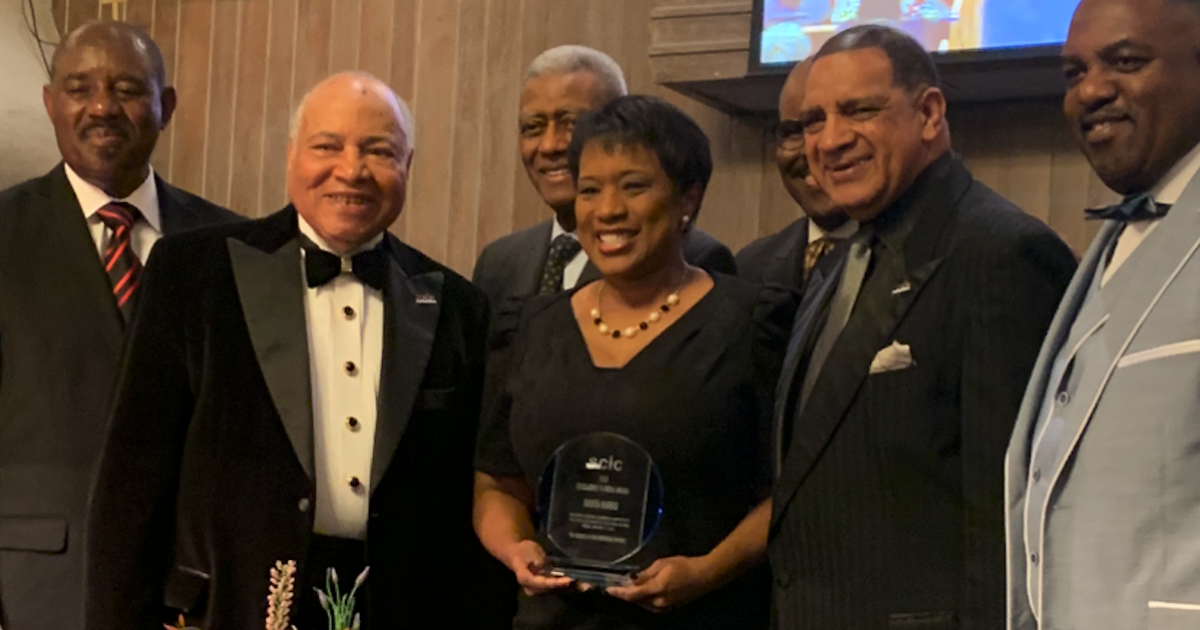 Danita Harris honored with award for work in community