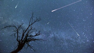 Two meteor showers to peak tonight