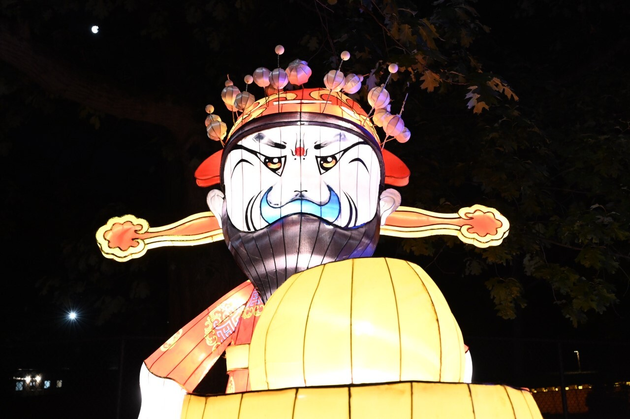 The Asian Lantern Festival at the Cleveland Metroparks Zoo.