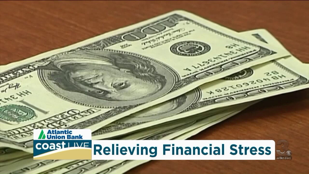 Tips on relieving your financial stress on Coast Live
