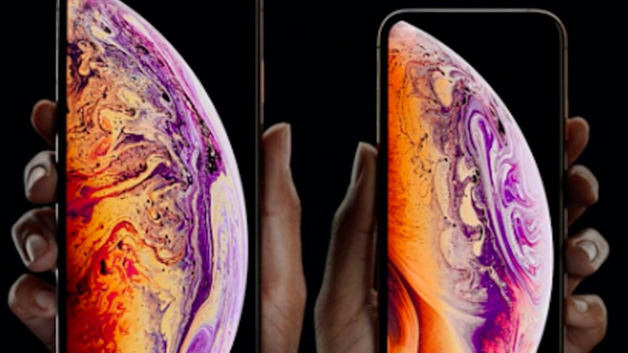 Apple unveils three new iPhone Xs