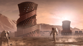NASA announces top three designs for homes on Mars