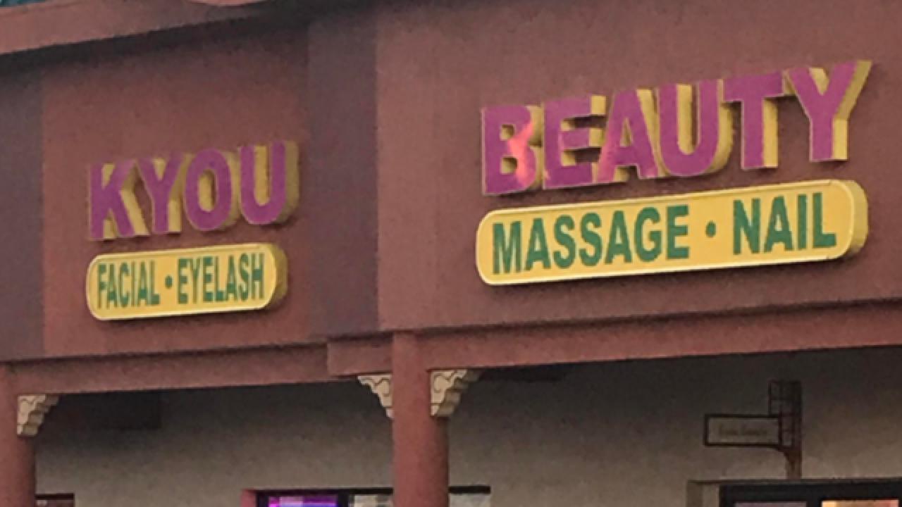 Las Vegas spa masseuse accused of sex assault