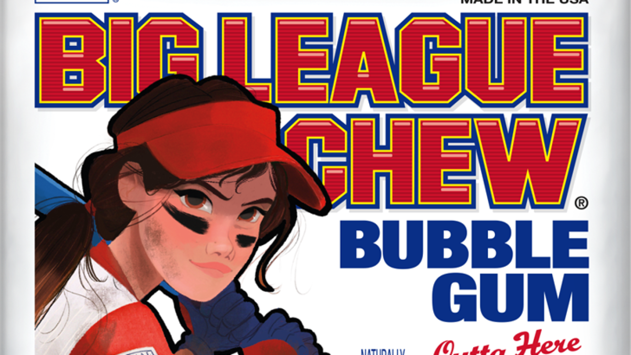 Big League Chew to feature woman on packaging