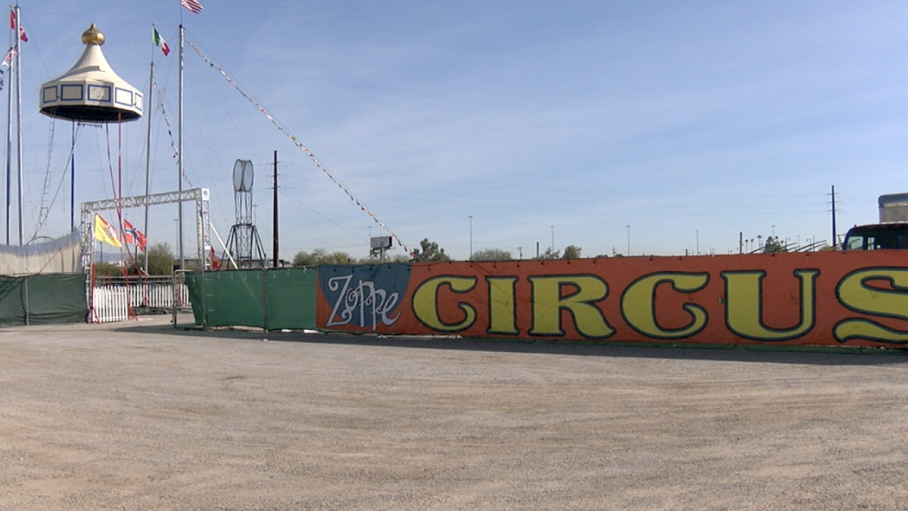The Zoppé Family Circus in Tucson