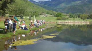 Families enjoy Free FishingDay
