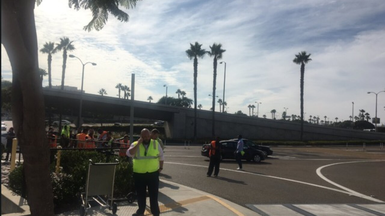 Bomb squad called to airport cargo terminal