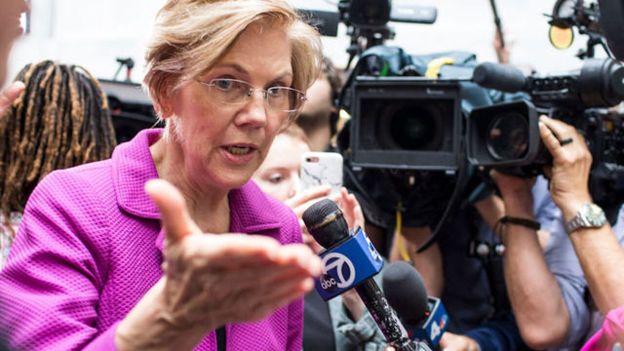 Warren says she'll think about presidential run after the midterms