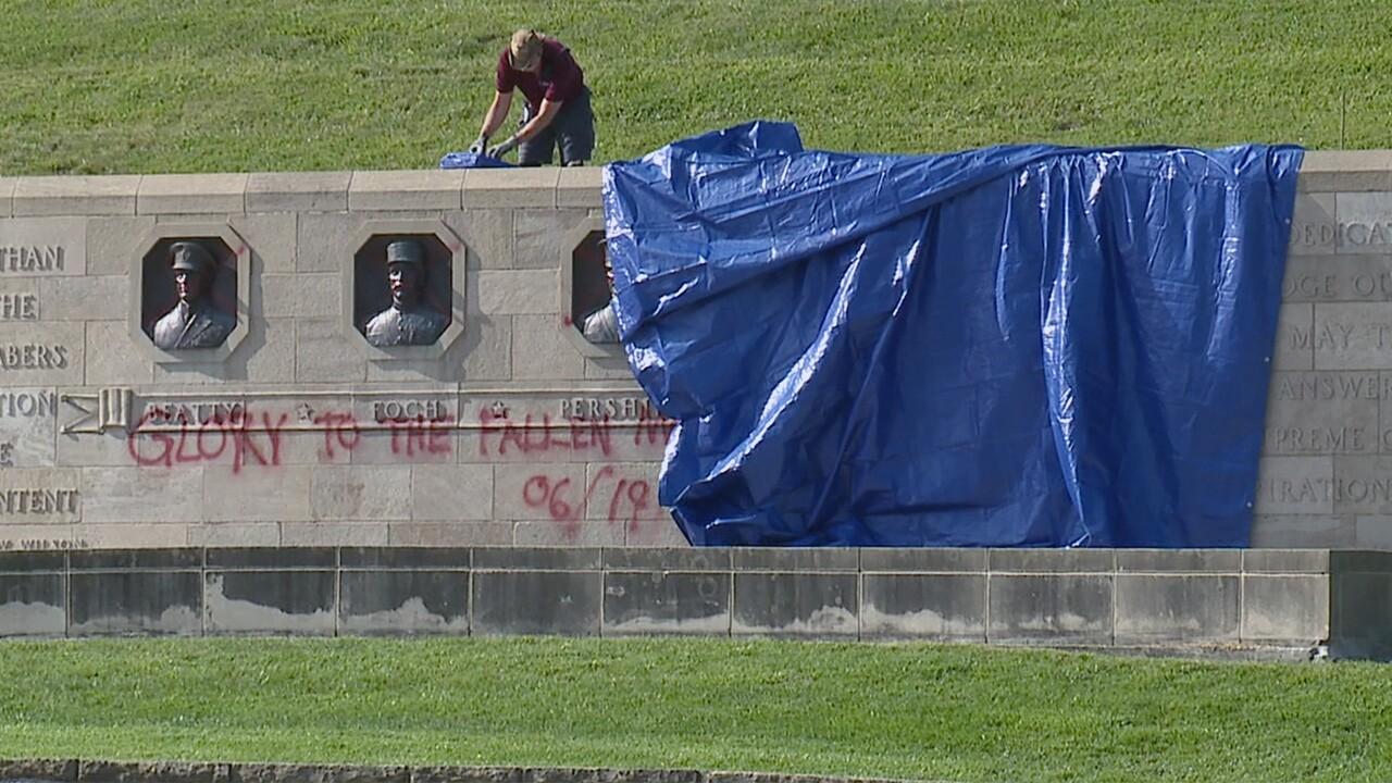 liberty memorial union station vandalism.jpg