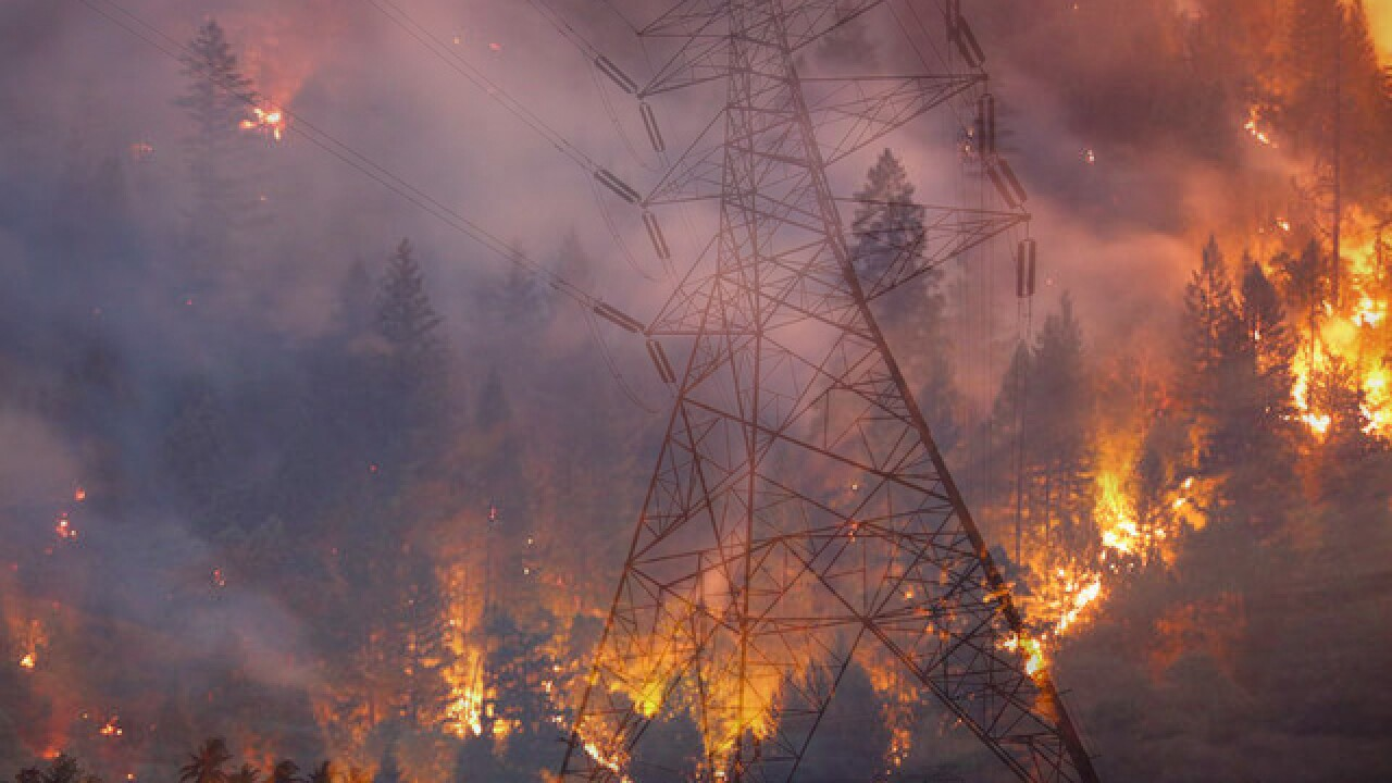 Bill allowing utilities that start wildfires to raise electric bills sent to Gov. Jerry Brown