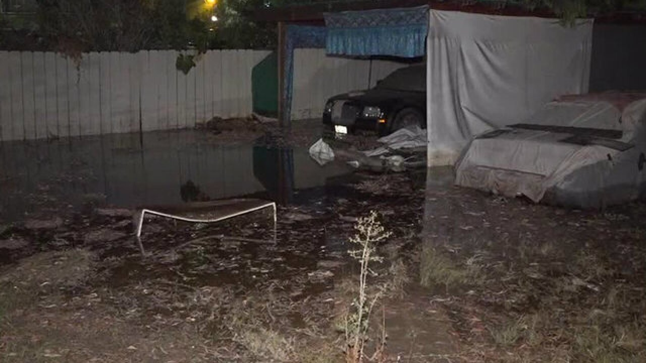 Main break leaves homes without water