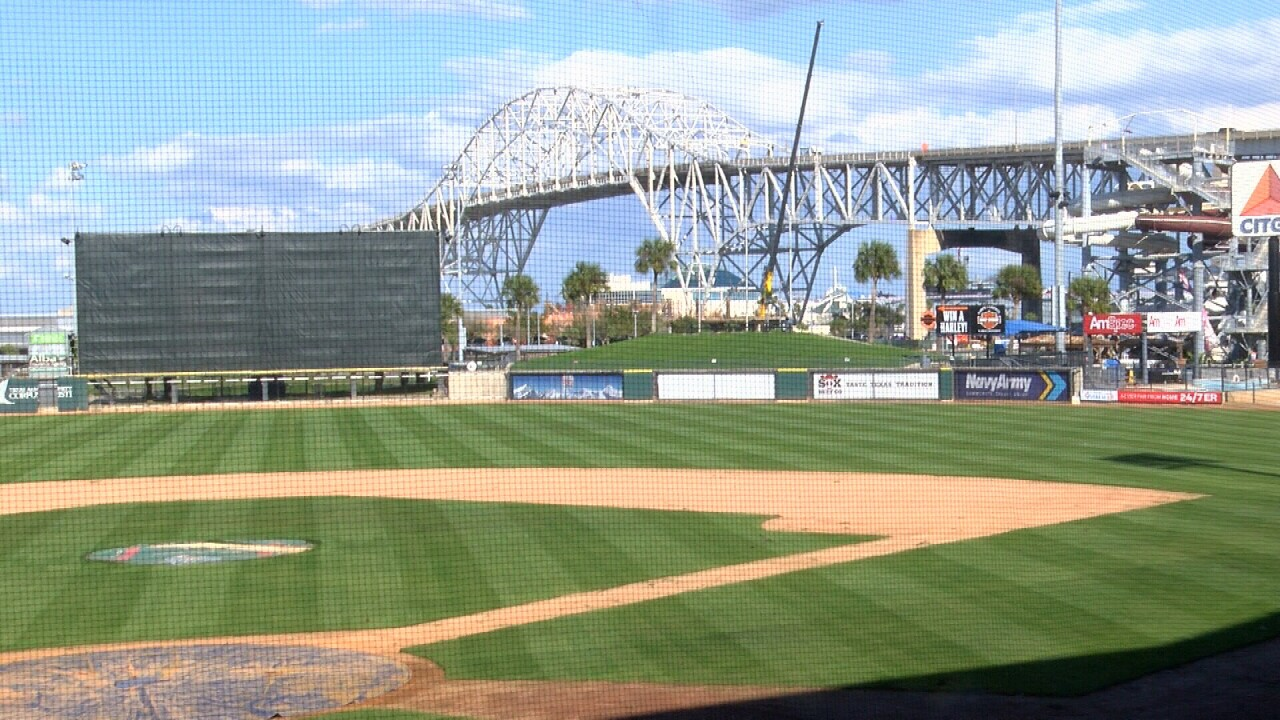 Whataburger Field will soon see $3 million in improvements. One of those improvements is extending the safety netting passed the players dugout. The changes are expected to be finished by June.