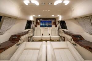 Tom Brady Cadillac Escalade interior