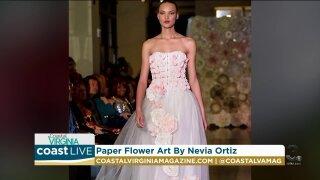 An artist creates paper flowers that last a lifetime on CoastLive