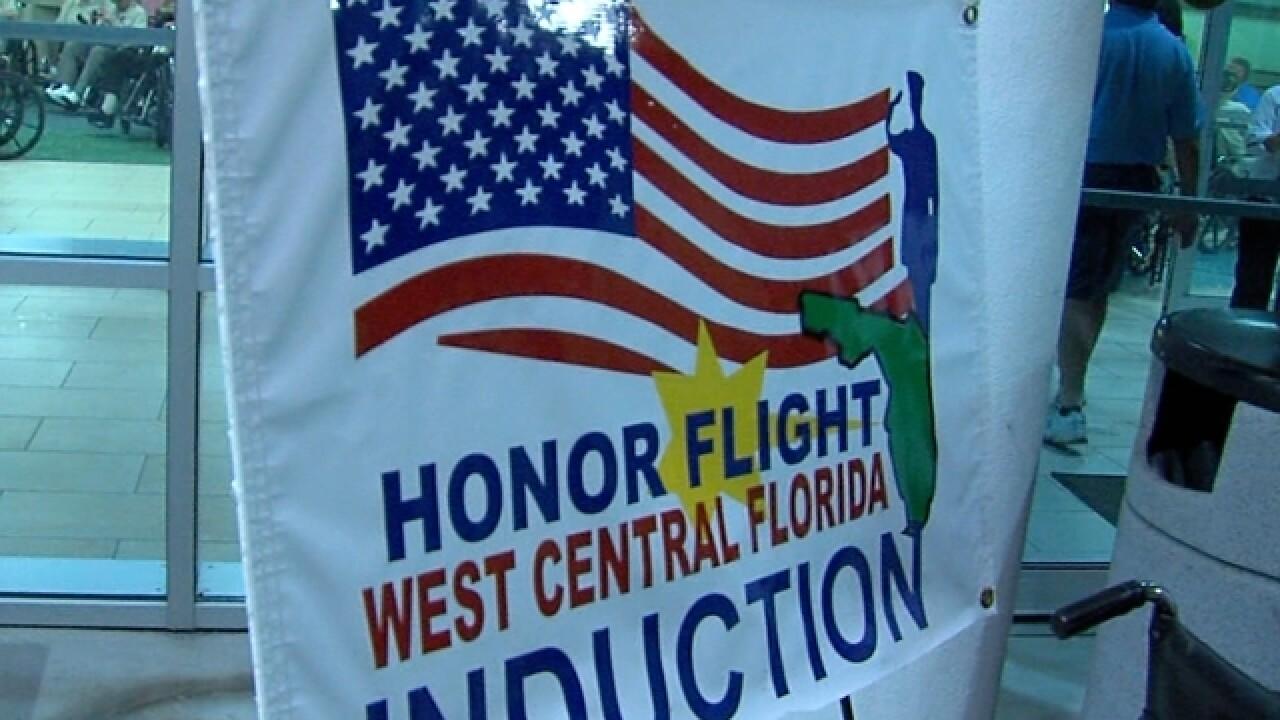 Honor Flight takes vets to D.C. war memorials
