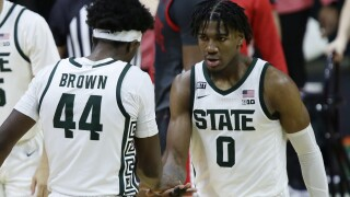 Aaron Henry Ohio St Michigan St Basketball
