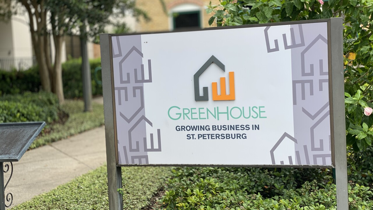 The Greenhouse in St. Pete.