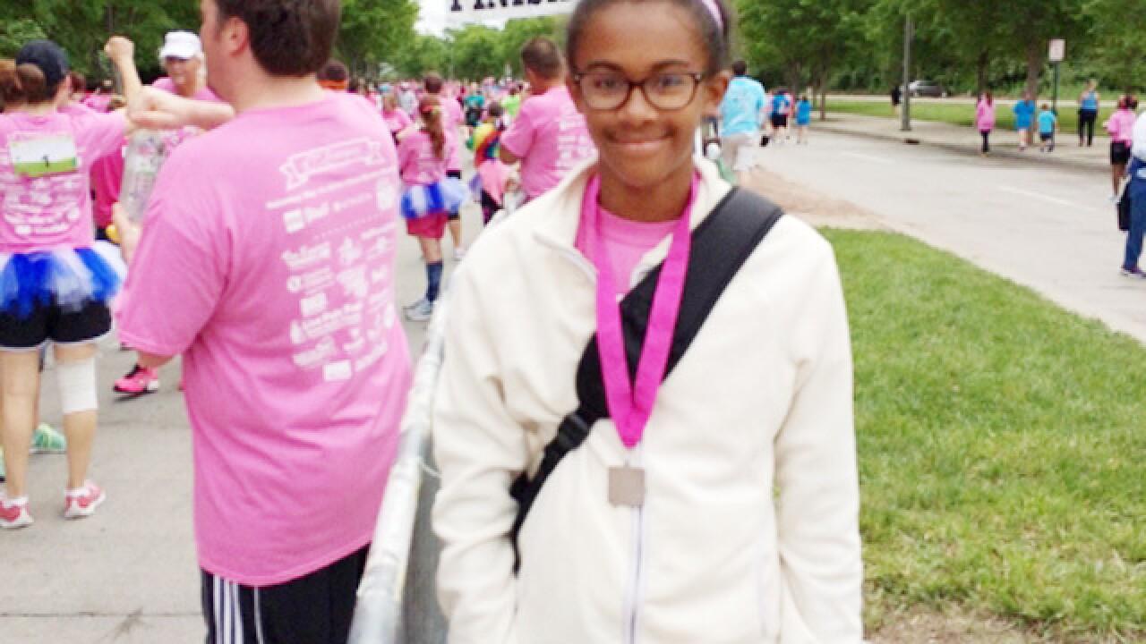 Program gave teen confidence... and running bug