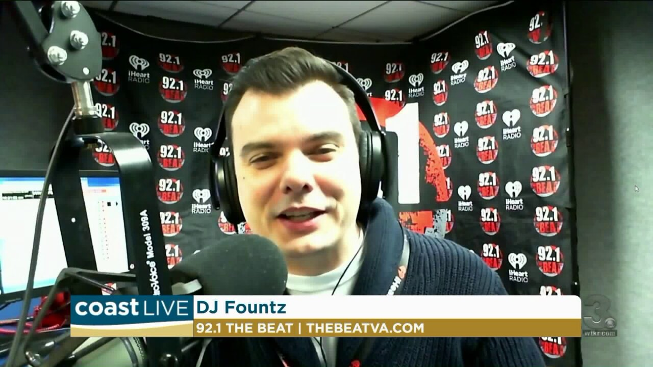 The latest music news with DJ Fountz from 92.1 The Beat on Coast Live
