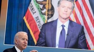 Joe Biden,Gavin Newsom