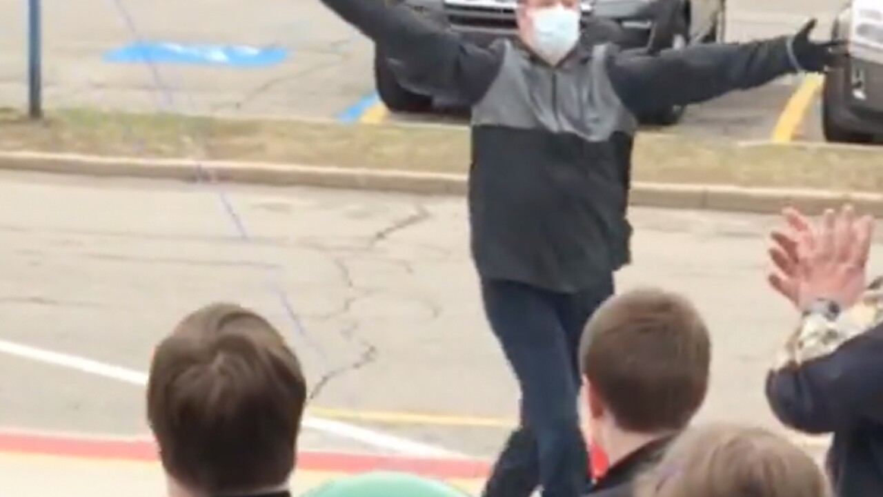 Want to see what happiness looks like? watch Lake Orion student return to school after heart surgery