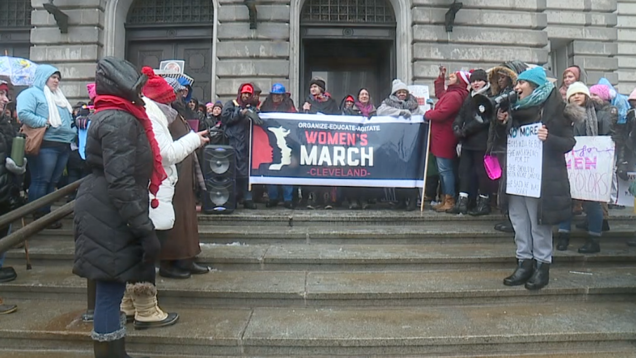 CLE Women's March 2021 will focus on violence against women