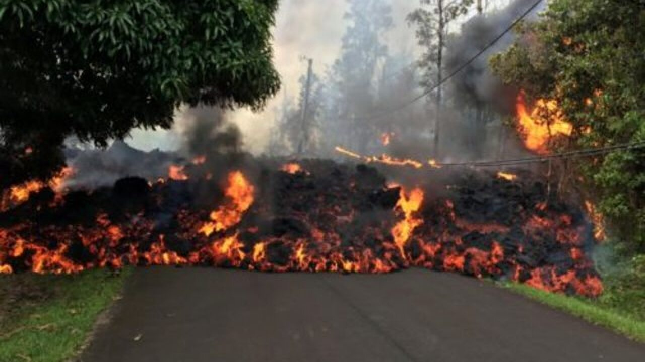 Hawaii volcano's 3 weeks of hot lava and toxic air -- with no end in sight