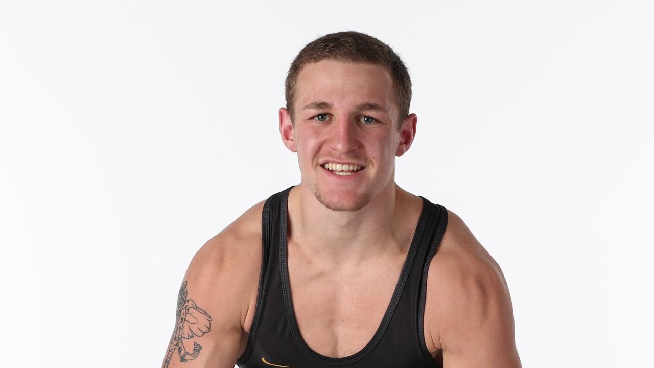 Bozeman wrestler Leif Schroeder reflects on freshman season with Iowa Hawkeyes