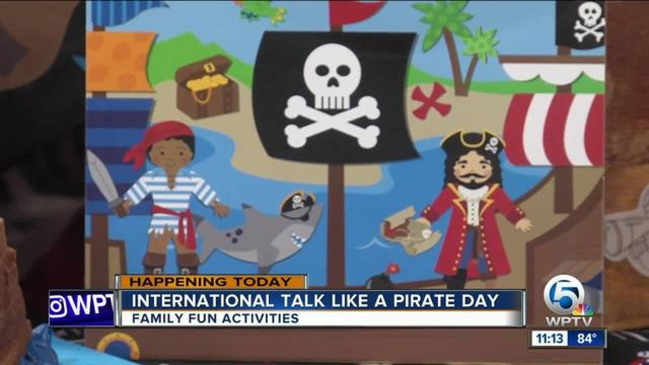 International Talk Like A Pirate Day is Sept. 19