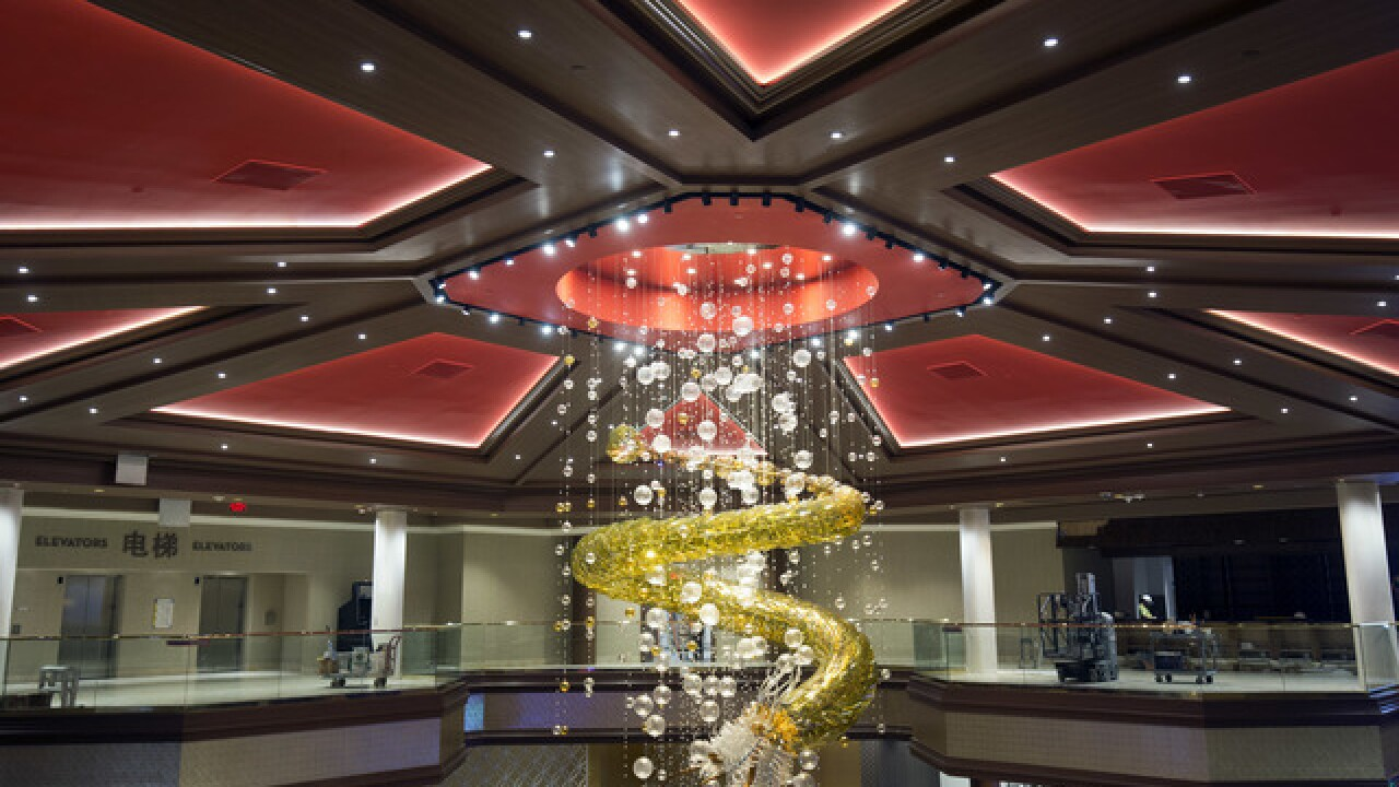 Lucky Dragon shuts down restaurants and casino