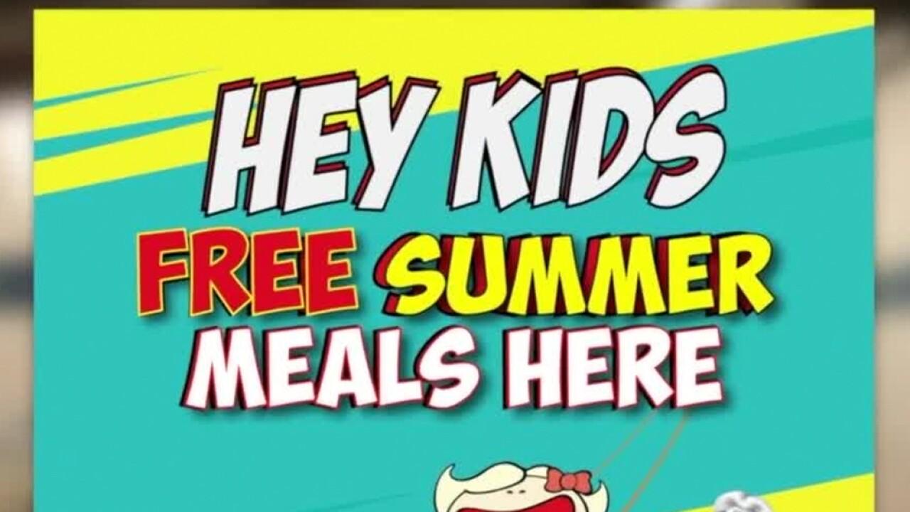 Food Service Program Providing Free Meals For Kids During Summer