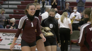 Manhattan Christian Eagles volleyball stays humble while remaining undefeated