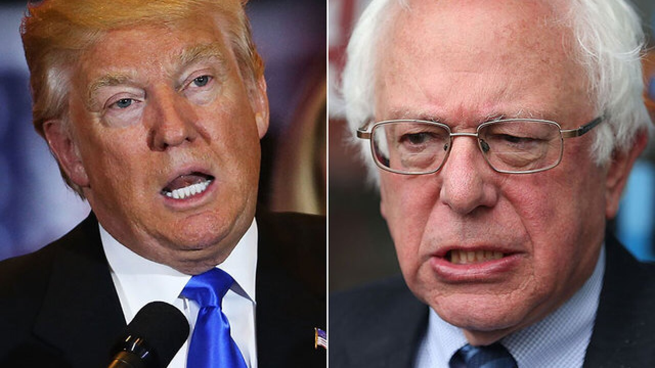 Are Trump and Sanders insidious infiltrators?