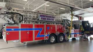 New Murfreesboro Fire Truck