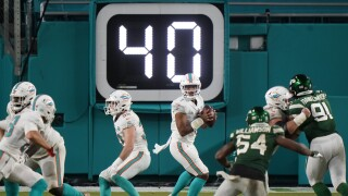 Miami Dolphins QB Tua Tagovailoa NFL debut vs. New York Jets, Oct. 18, 2020