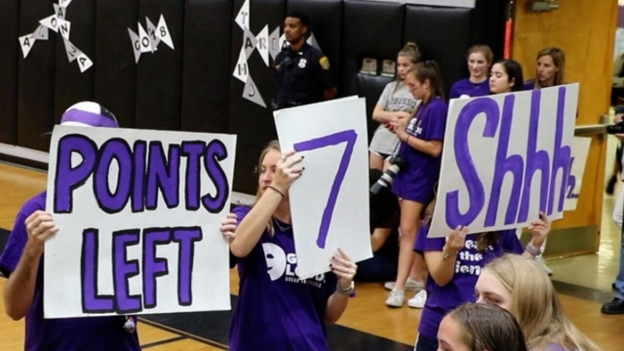 "Tampa students ""Get Loud"" to end domestic abuse"