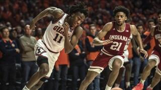 Indiana Illinois Basketball