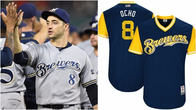 online retailer fcafe 9b9f3 PHOTOS: See the nicknames Milwaukee Brewers chose for ...