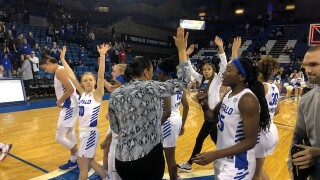 UB women advance to MAC quarterfinals